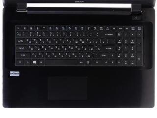 """17.3"""" Ноутбук DEXP Aquilon O119 черный"""