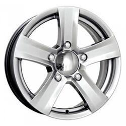 Автомобильный диск  K&K Ниагара 6x16 5/139,7 ET 40 DIA 98 Блэк платинум