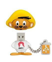 Память USB 2.0 Flash EMTEC L102  4 Gb (speedy gonzales)