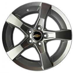 Автомобильный диск литой Replay GN52 7x17 5/105 ET 42 DIA 56,6 Sil