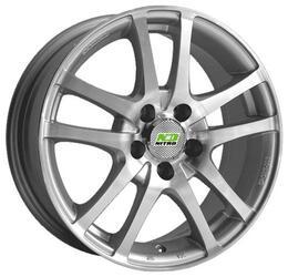 Автомобильный диск Литой Nitro Y450 6x15 4/100 ET 50 DIA 60,1 Sil