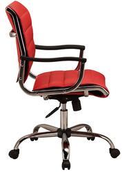 Кресло офисное Бюрократ CH-994AV красный