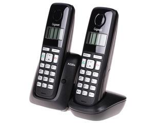 Телефон беспроводной (DECT) Siemens Gigaset A220A DUO