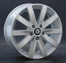 Автомобильный диск литой Replay SK20 7x17 5/100 ET 45 DIA 60,1 Sil