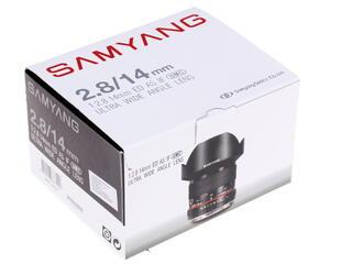 Объектив Samyang 14mm F2.8 ED AS IF UMC