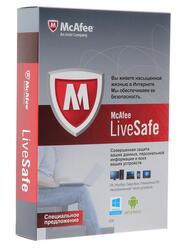 Антивирус McAfee LiveSafe 2013