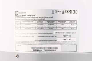 Водонагреватель Electrolux EWH-100 Royal