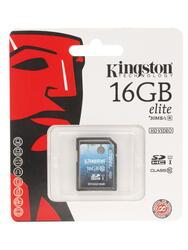 Карта памяти Kingston Elite SD10G3/16GB SDHC 16 Гб