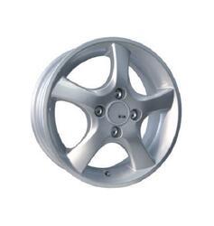 Автомобильный диск Литой K&K Папирус 5,5x13 4/98 ET 35 DIA 58,6 Блэк платинум