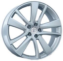 Автомобильный диск литой Replay TY80 7x17 5/100 ET 39 DIA 56,6 Sil