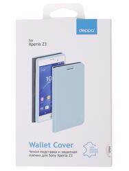 Чехол-книжка  Deppa для смартфона Sony Xperia Z3