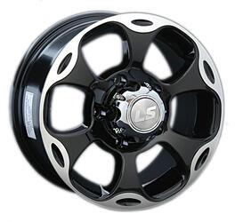Автомобильный диск Литой LS 183 7x15 6/139,7 ET 5 DIA 108,1 BKF