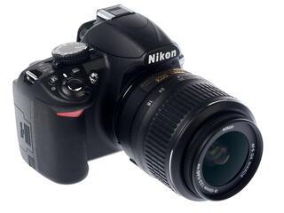 Зеркальная камера Nikon D3100 Kit 18-55 VR черный