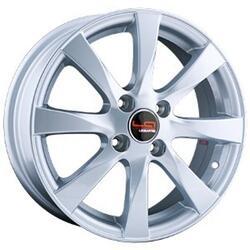 Автомобильный диск Литой LegeArtis RN100 6x15 4/100 ET 43 DIA 60,1 Sil