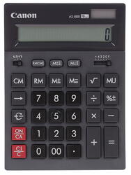 Калькулятор бухгалтерский Canon AS-888 BK