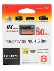 Карта памяти Sony MSHX8BT MS Pro Duo 8 Гб