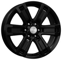 Автомобильный диск  K&K R-7 Рольф 7,5x17 6/114,3 ET 39 DIA 67,1 Алмаз черный