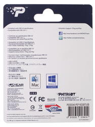 Память USB Flash Patriot Supersonic Bolt 16 Гб