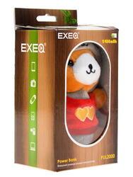 Портативный аккумулятор Exeq PUL2000 оранжевый, красный