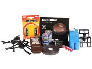 Пылесос-робот Redmond RV-R400 коричневый