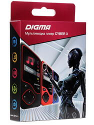 Мультимедиа плеер Digma Cyber 3 черный