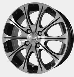 Автомобильный диск Литой Скад Ганимед 5,5x14 5/100 ET 35 DIA 67,1 Алмаз