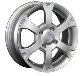 Автомобильный диск литой Replay NS28 6x15 4/114,3 ET 45 DIA 66,1 Sil