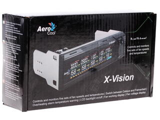 Регулятор оборотов Aerocool X-Vision черный