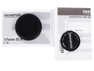 Объектив Olympus 17mm F2.8 Pancake