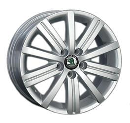 Автомобильный диск литой Replay SK41 6x15 5/100 ET 38 DIA 57,1 Sil