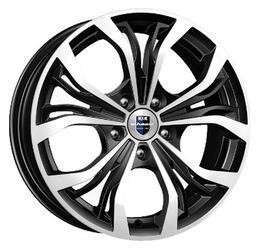 Автомобильный диск литой K&K Аламида 6,5x16 5/110 ET 38 DIA 65,1 Алмаз черный
