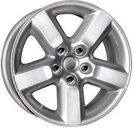 Автомобильный диск  K&K КС310 7x16 5/114,3 ET 35 DIA 60,1 Сильвер