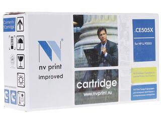 Картридж лазерный NV Print CE505Х