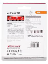 Память USB Flash Transcend JetFlash 620 8 Гб