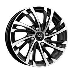 Автомобильный диск литой K&K Мейола 6x15 4/108 ET 52,5 DIA 63,35 Алмаз черный