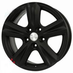 Автомобильный диск Литой Скад Фобос-2 7x16 5/114,3 ET 45 DIA 67,1 Черный матовый