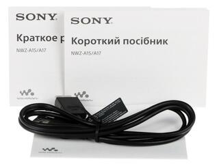 Мультимедиа плеер Sony NWZ-A15 серебристый