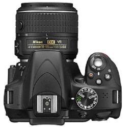 Зеркальная камера Nikon D3300 Kit 18-55 VR/55-200mm VR черный