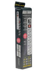 Сетевой фильтр Power Cube SPG-B6 серый
