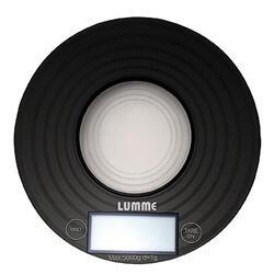 Кухонные весы Lumme LU-1317 Черный/круги