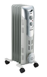 Масляный радиатор Mystery MH-5001 белый