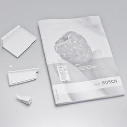 Холодильник с морозильником BOSCH KGS 36XW20 R белый