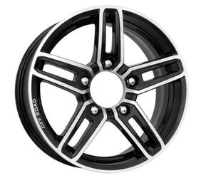Автомобильный диск  K&K Дон 6x16 5/139,7 ET 40 DIA 98 Алмаз черный