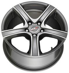 Автомобильный диск литой MAK Scorpio 8x17 5/108 ET 35 DIA 72 Iron mirror