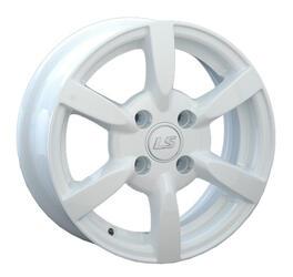 Автомобильный диск Литой LS ZT386 5x13 4/98 ET 35 DIA 58,6 White