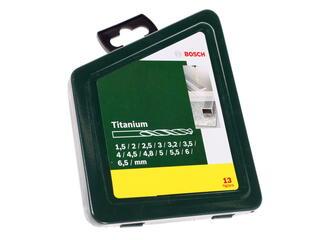 Набор сверл Bosch TiN 2607019436