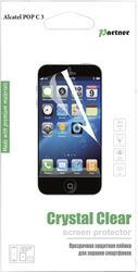 "4""  Пленка защитная для смартфона Alcatel One Touch Pop C3"
