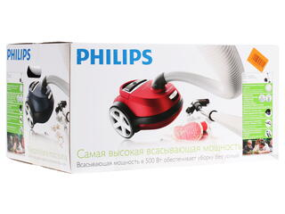 Пылесос Philips FC9176/01 черный