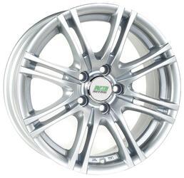 Автомобильный диск Литой Nitro Y3153 7x16 5/105 ET 39 DIA 56,6 Sil