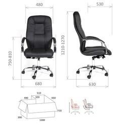 Кресло руководителя CHAIRMAN CH490 черный